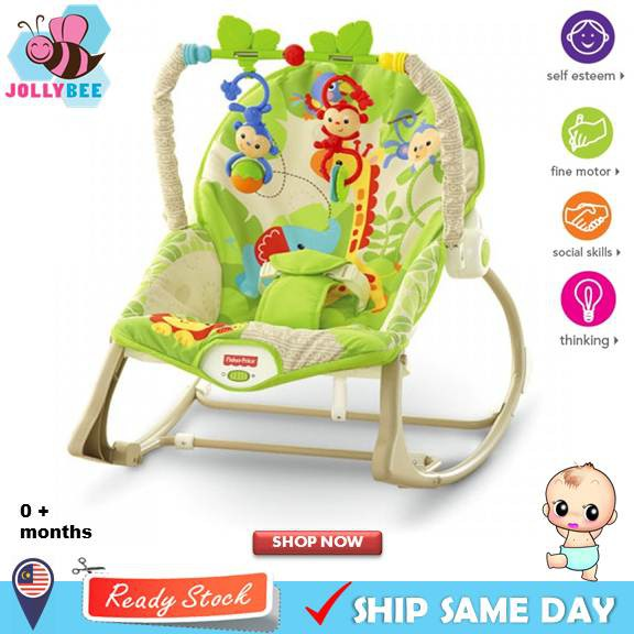 Mother & Kids 2 Colors Bicycle Child Seats & Trailers Premium Baby Rocking Chair With Adjustable Angle And Safety Belt