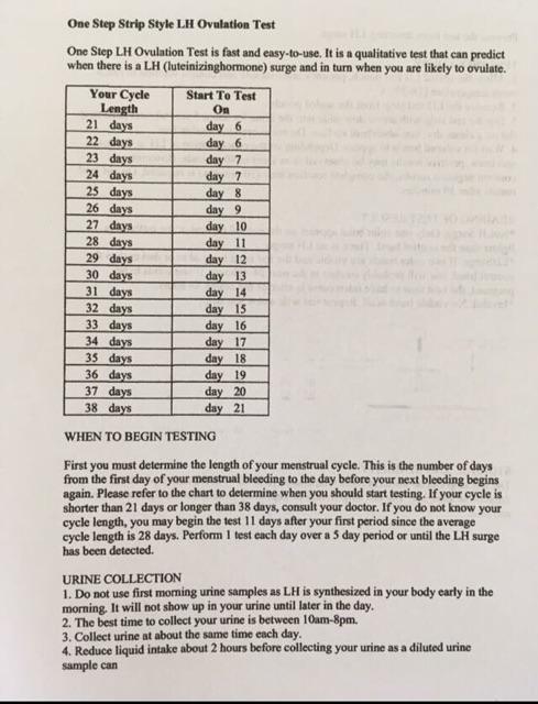 David Ovulation Test Strip 20pcs Free 2pcs Pregnancy Test 大