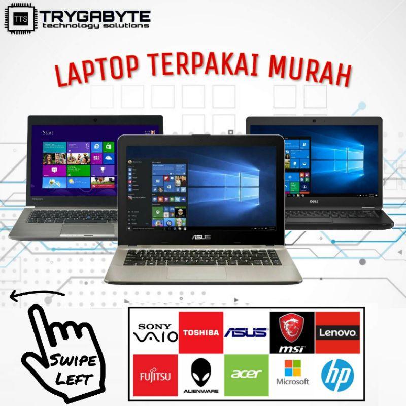 Secondhand Laptop Cheap Laptop Terpakai Murah Intel Amd Ssd Hdd Nvidia Radeon Used Terpakai Shopee Malaysia
