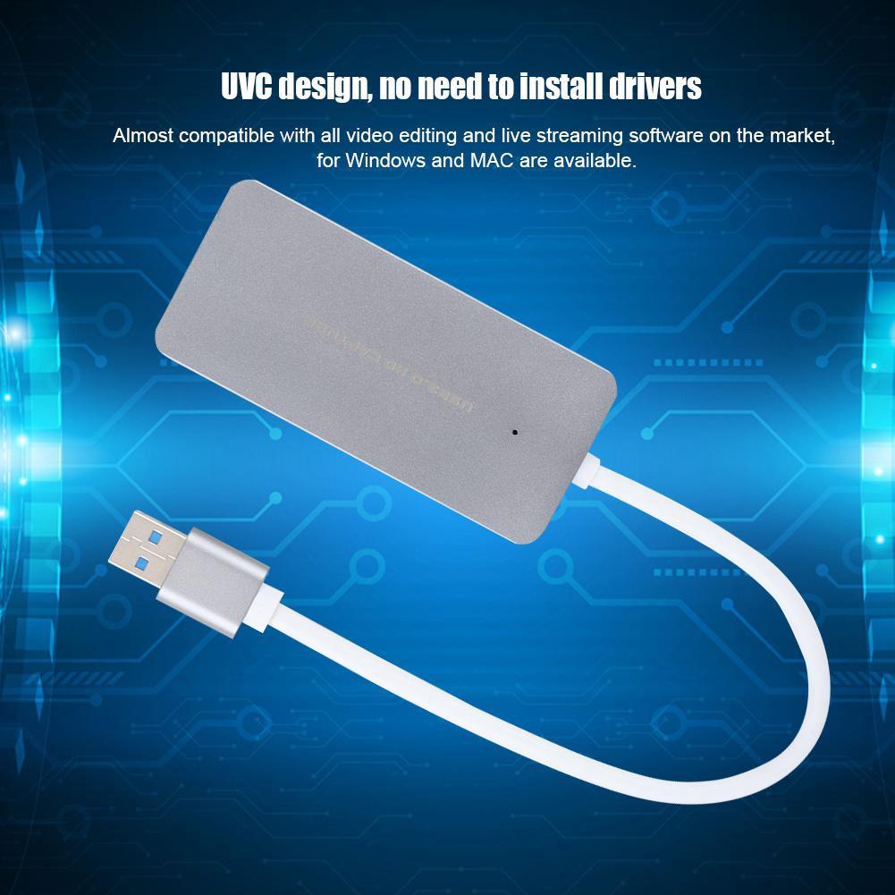 EZCAP265 HDMI to USB3 0 UVC Video Capture Card Aluminum