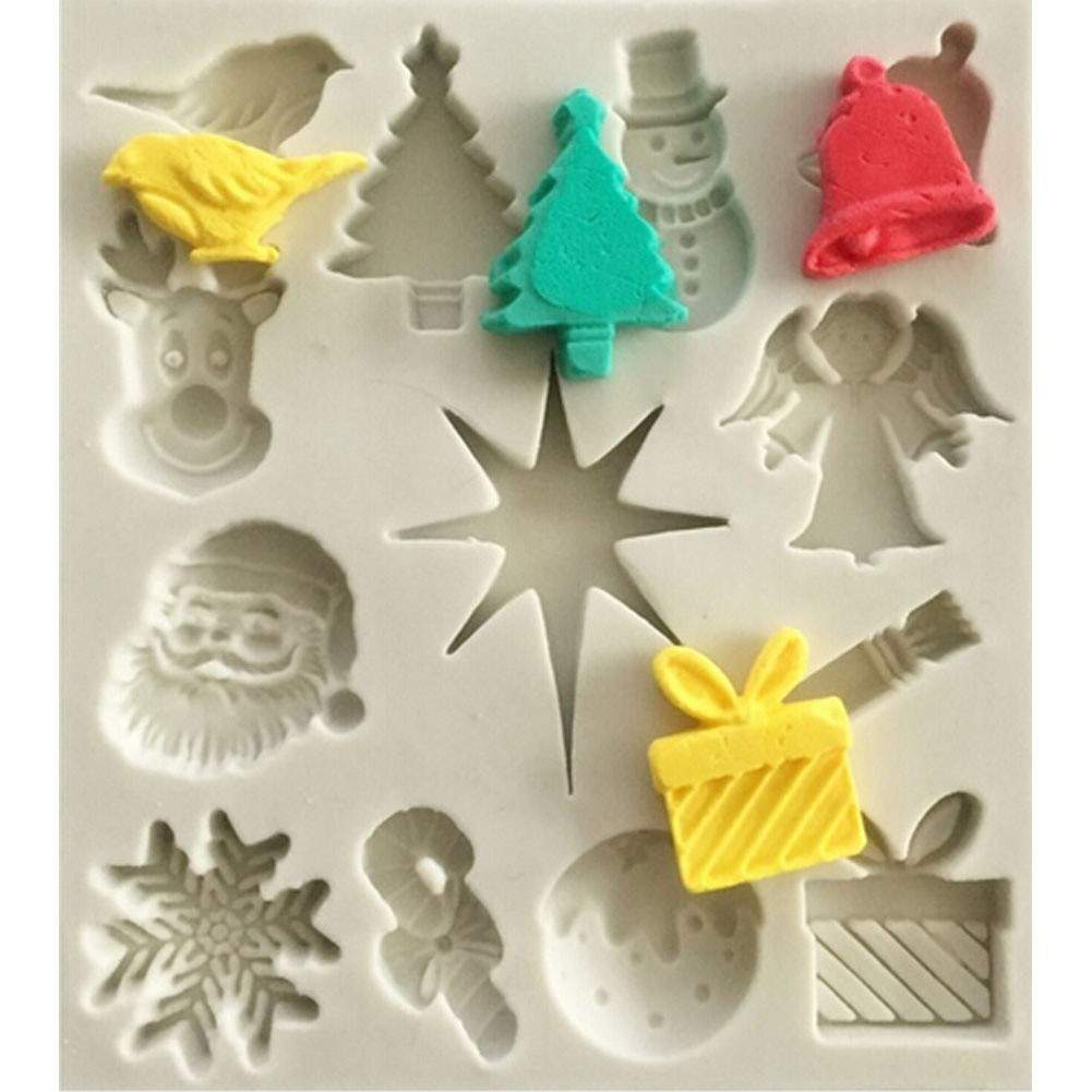 Stainless Steel Pastry Cookie Cake Decor Baking Mold XMASTree leaf Mould Tools