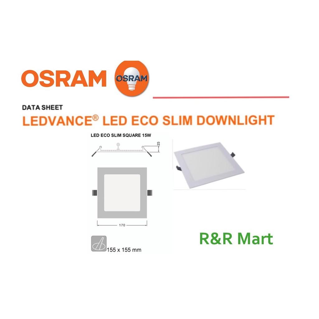Eco slim line led downlight