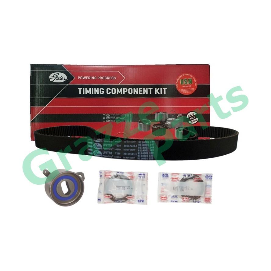 GATES Timing Belt Kit Set for Toyota Corrolla AE101 117Y21