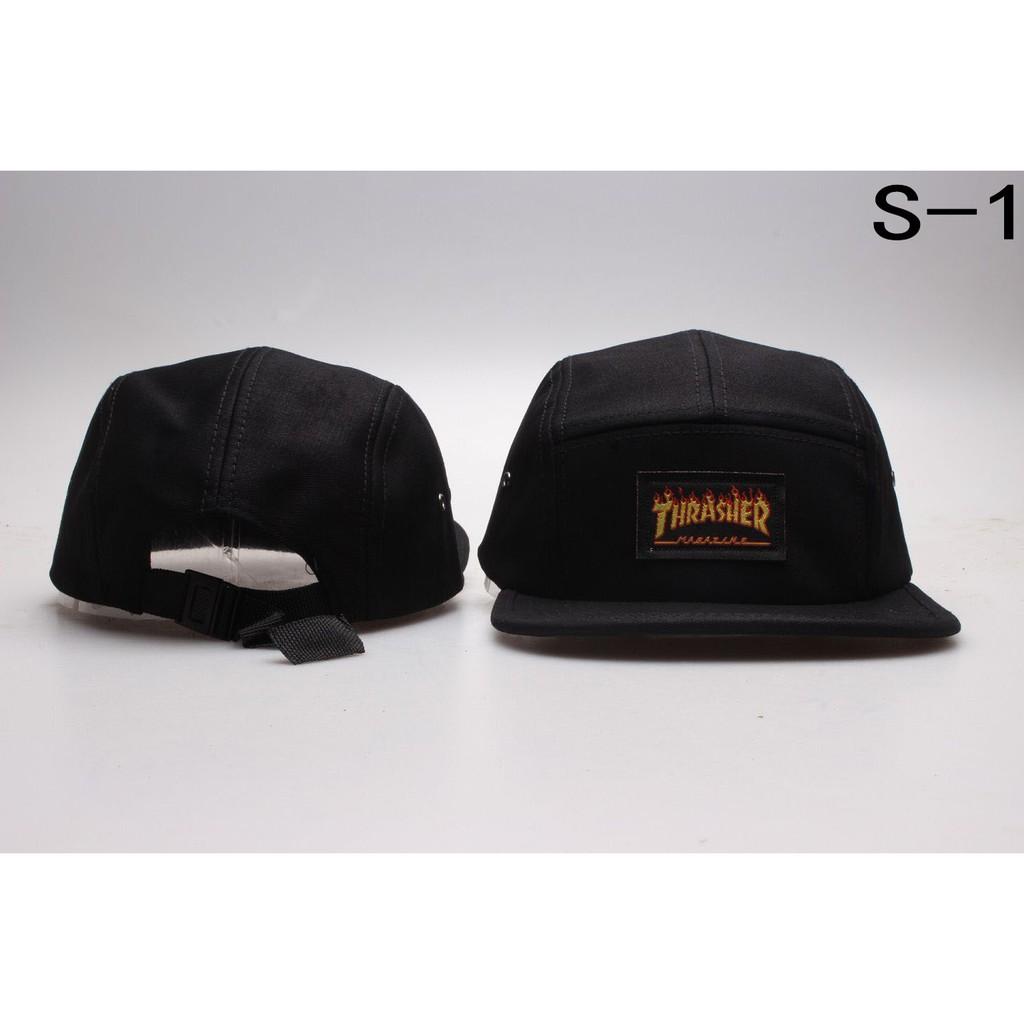 3bb018180a685 THRASHER Cap Women Men Baseball Cap Hip Hop Hats Snapback Korean Style 5  Panel