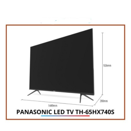 "PANASONIC 65"" LED ANDRIOD TV TH-65HX740"