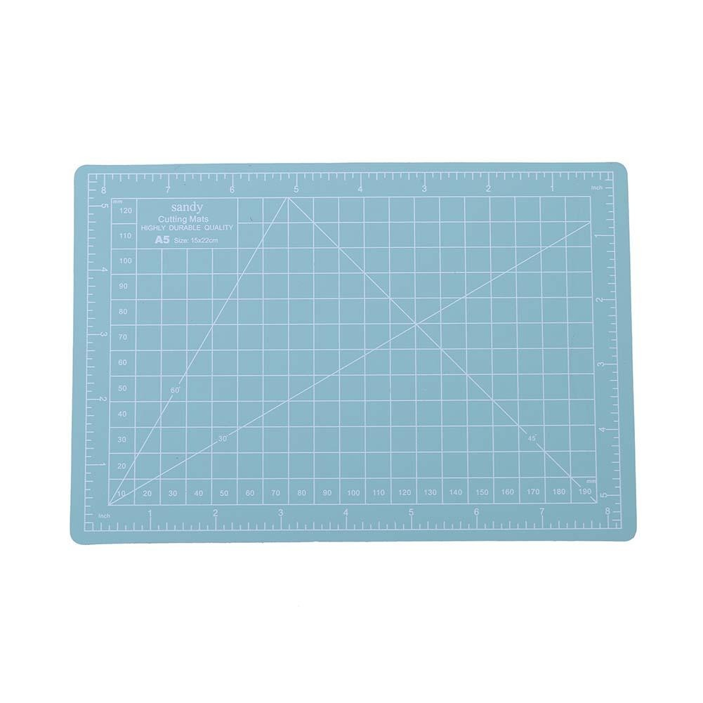 YESZ DIY Sewing Kits,A4 Cutting Plate,A4 Plastic Self Healing Cutting Mat Craft Quilting Grid Lines Print Scale Plate