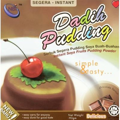 NBI Dadih Instant Soya Fruits Pudding Powder - Chocolate Flavour @ 90g (  Free Fragile + Bubblewrap Packing )