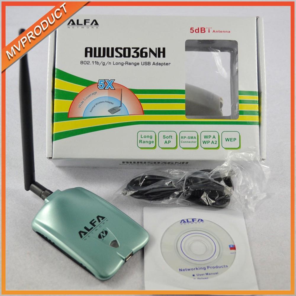 ALFA AWUS036NHA Atheros AR9271 Wireless B/G/N USB Adapter | Shopee