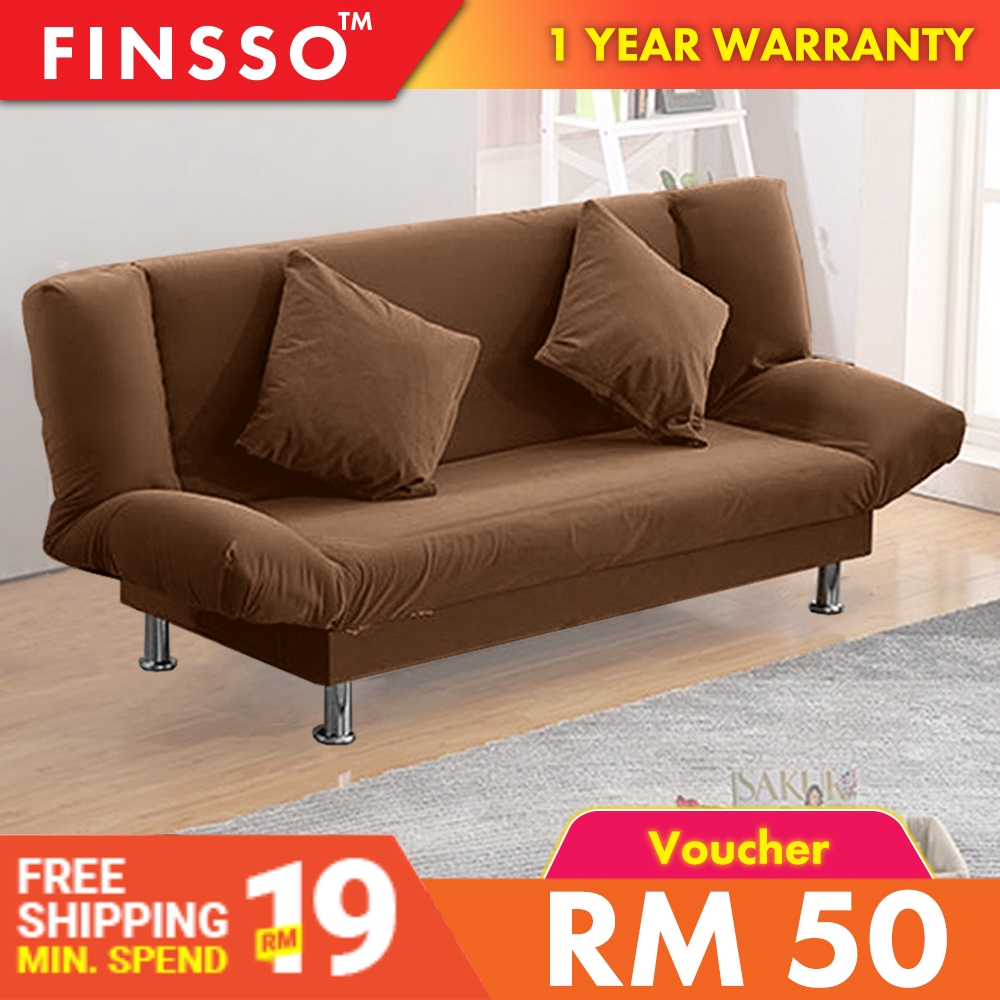 Pleasant Finsso Iris Living Room 2 In 1 Foldable Sofa Bed 2 Seater Or 3 Seater Theyellowbook Wood Chair Design Ideas Theyellowbookinfo
