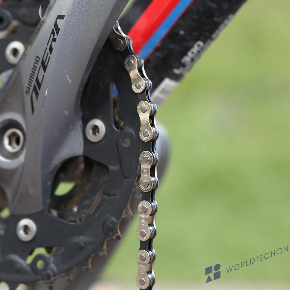 116 Links 7S8 Speed Mountain Bike Chain IG51 Freewheel Shift Chain for MTB Tool