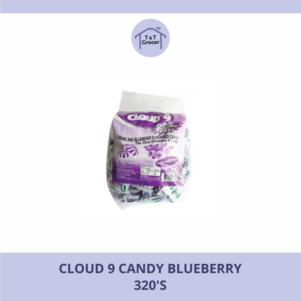 Cloud 9 Candy 320's (Blueberry/ Butter Caramel/ Chocolate Chews/ Creme Strawberry/ Fresh Milk/ Ice Lemon Tea)