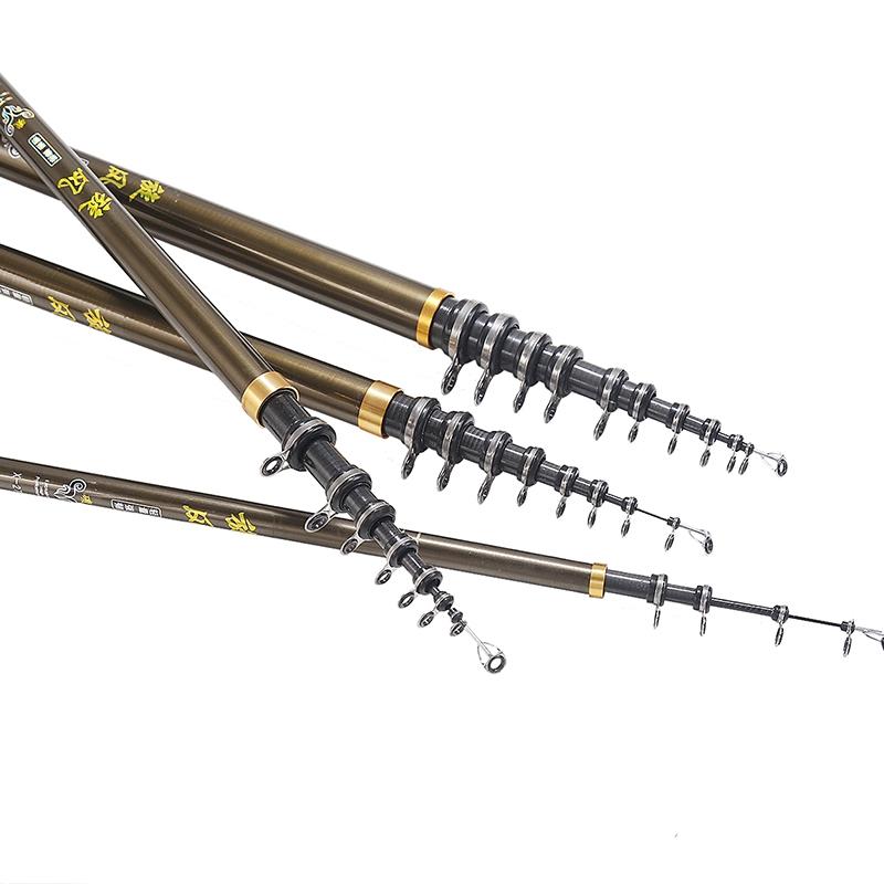 Fishing Rod Stream Hand Carbon Fiber Casting Telescopic Lightweight Toughness