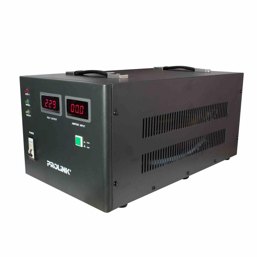 PROLiNK 10KVA/8000W Servo Motor Control Industrial Grade Stabilizer AVR Auto Voltage Stabilizer PVS10001CD