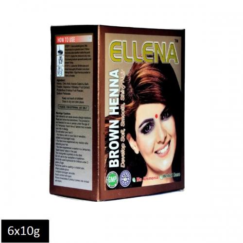 Ellena Brown Henna (6 sachets x 10g)