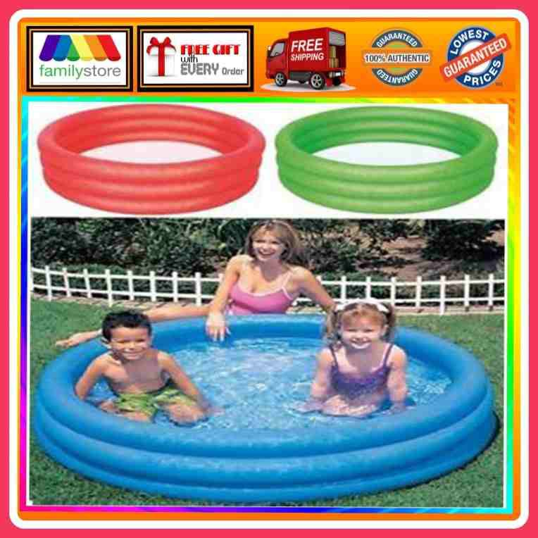 Bestway 3 Ringed Inflatable Swimming Paddling Pool