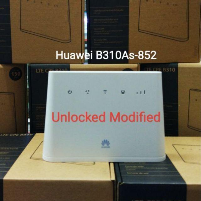 Unlocked Modified Huawei B310 4G LTE SIM Card WIFI Hotspot Modem