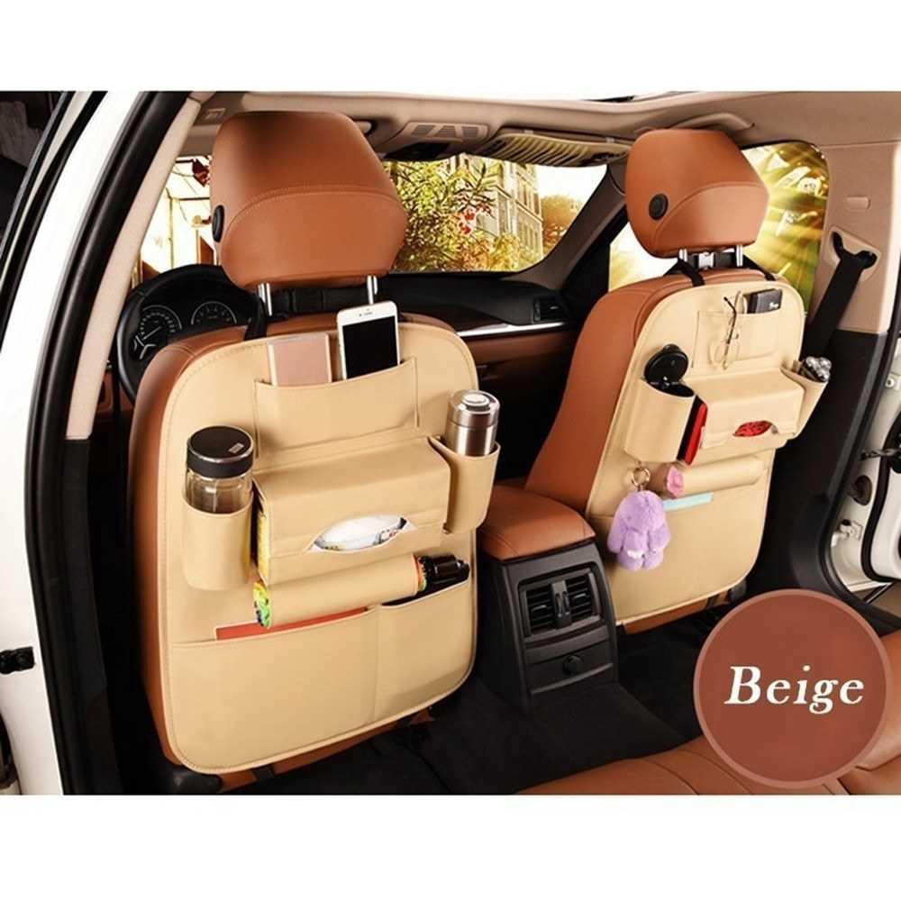 Car Seat Back Storage Bag Organizer Travel Box Pocket
