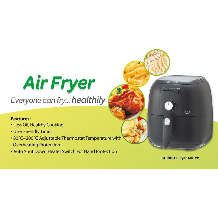 KHIND ARF22 Air Fryer