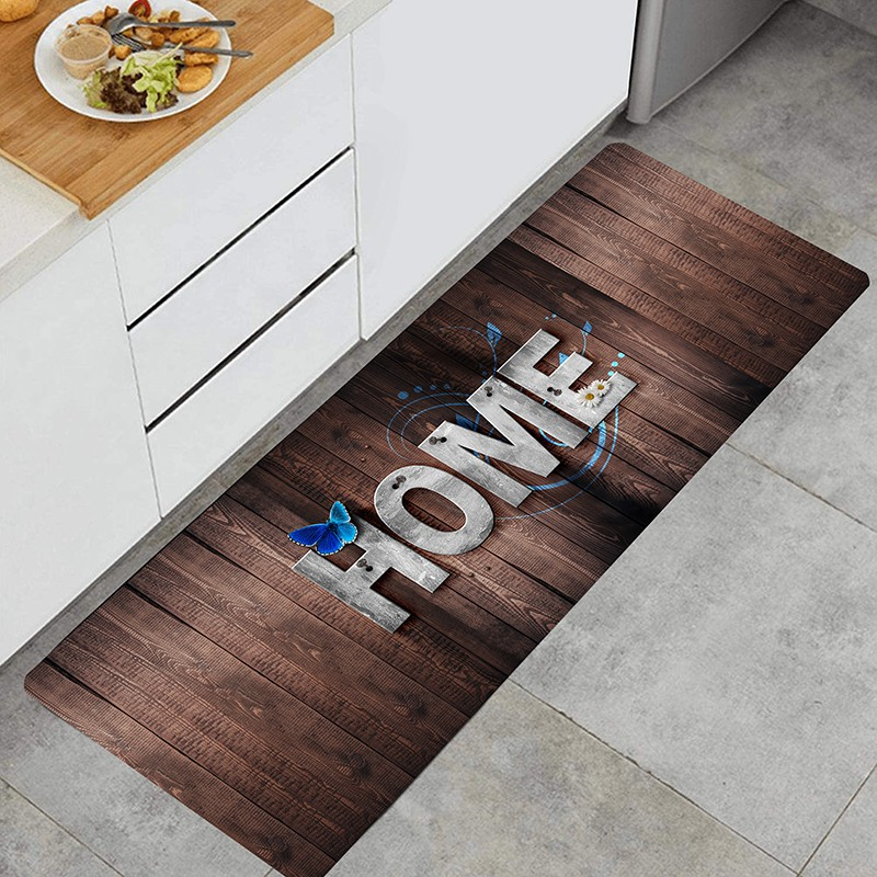 Kitchen Mats Anti Fatigue Chef Mat Kitchen Rug Foam Cushioned Floor Rugs 3d Words Home Shopee Malaysia