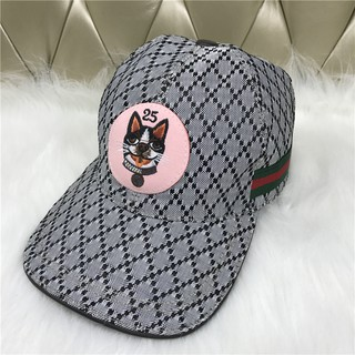167539a17 GUCCI Fashion men's and women's canvas baseball Cap sun visor cap ...