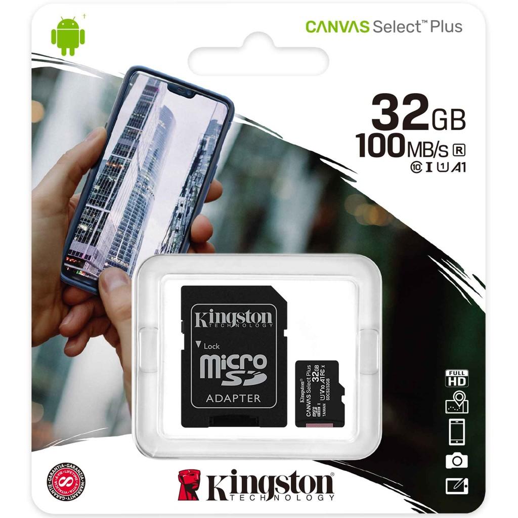 KINGSTON MICRO SD CARD 32GB/64GB