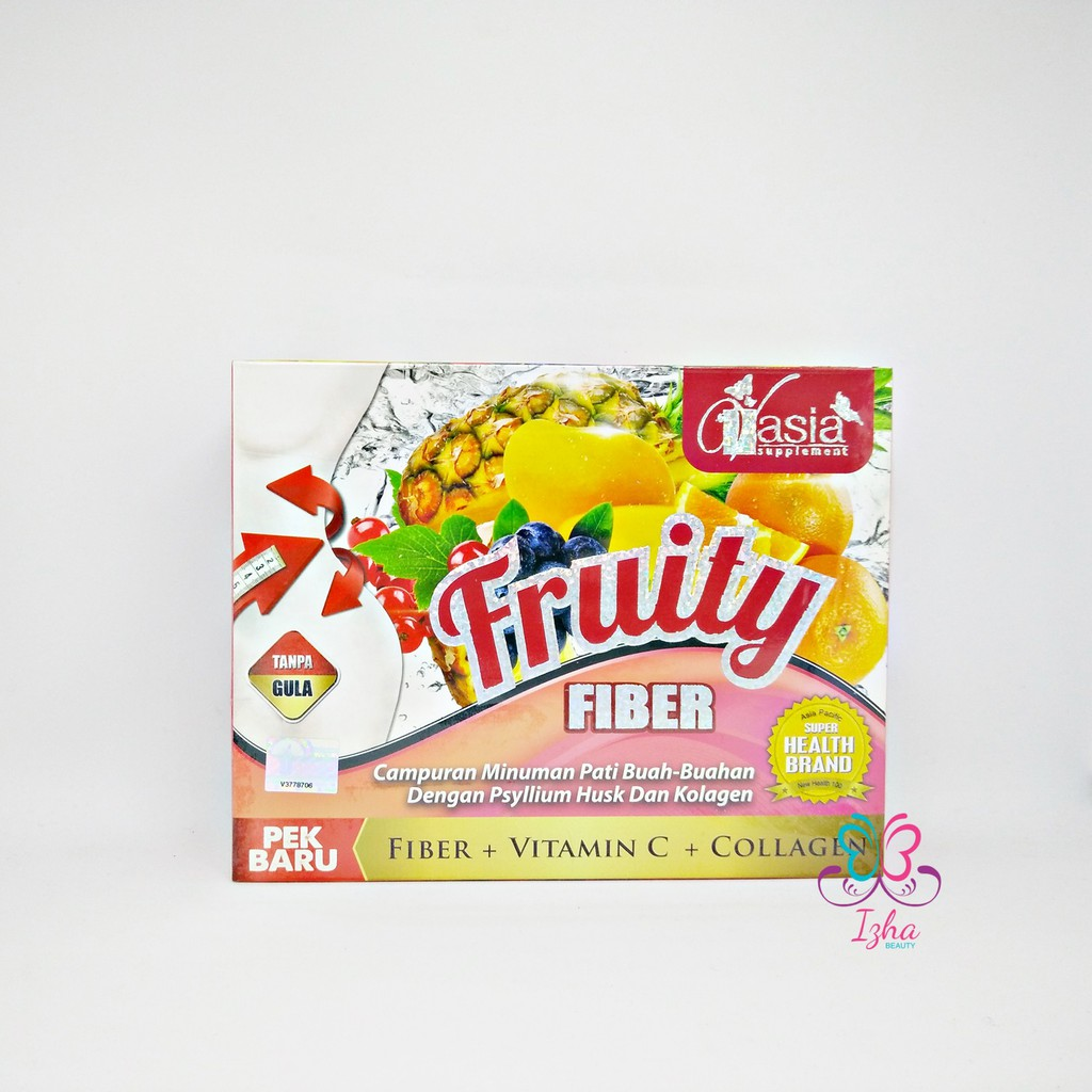 [V\'ASIA] Fruity Fiber + Collagen - 10 sachet x 15g