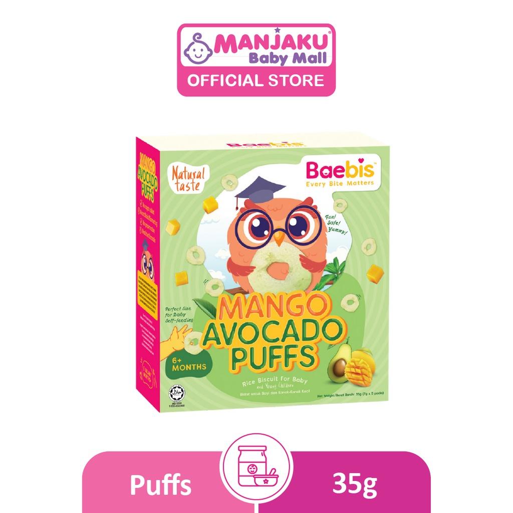 Baebis Avocado Puffs 35g