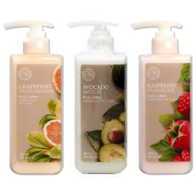 Original The Face Shop Body Lotion 300ml Free Delivery  Expiry Date 2021