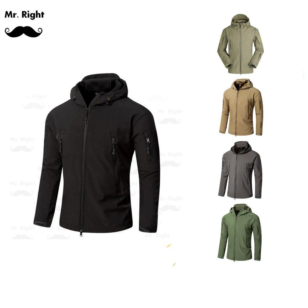 Military Tactical Men Jacket Lurker Shark Skin Soft Shell Waterproof Jaket Army Gear Import Tad Windproof Shopee Malaysia