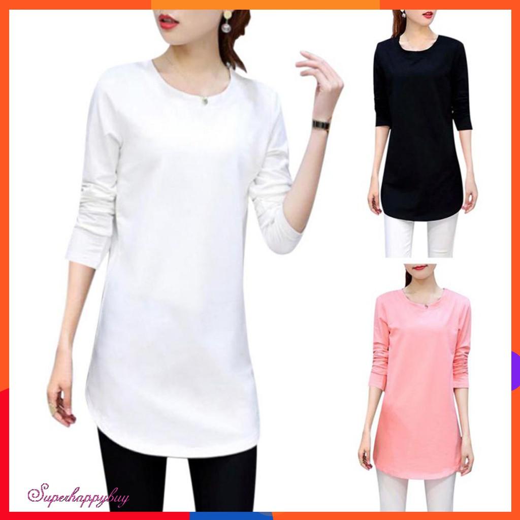 6d07c0b21e0 ✨Superhappybuy💕Women Solid Color Versatile Long Sleeve Blouse Casual Tops
