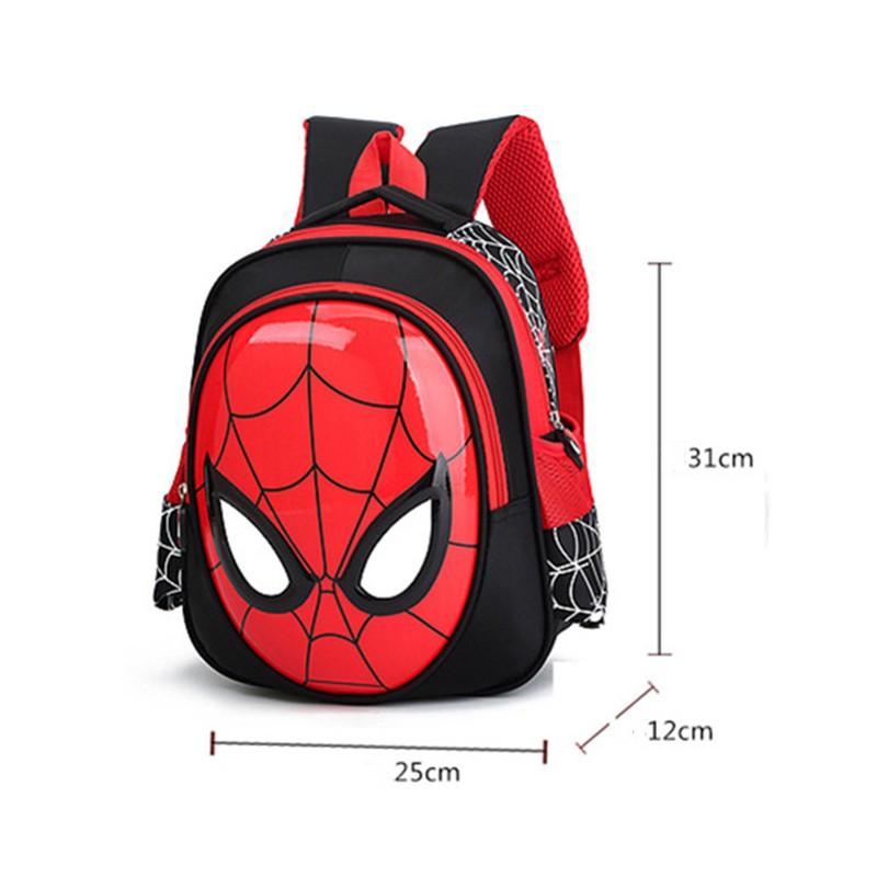 Kids Halloween Gift Spiderman Ironman Backpack EVA Schoolbag Egg Shell Bag Totes