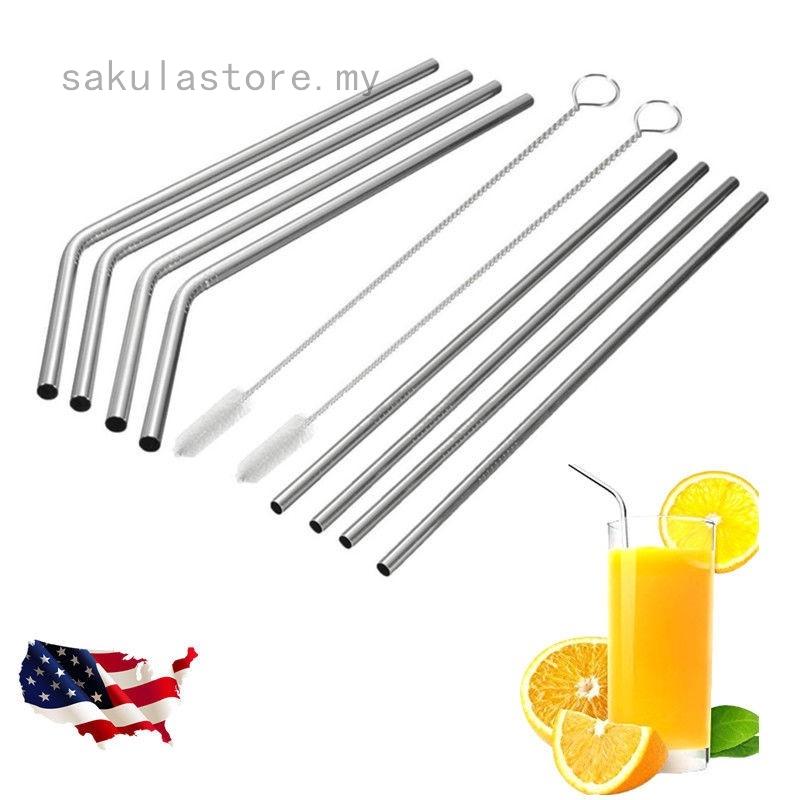 3ec93cb4ec5 10.5 Long Reusable Stainless Steel Drinking Straws for 20 30 Oz Yet Tumbler