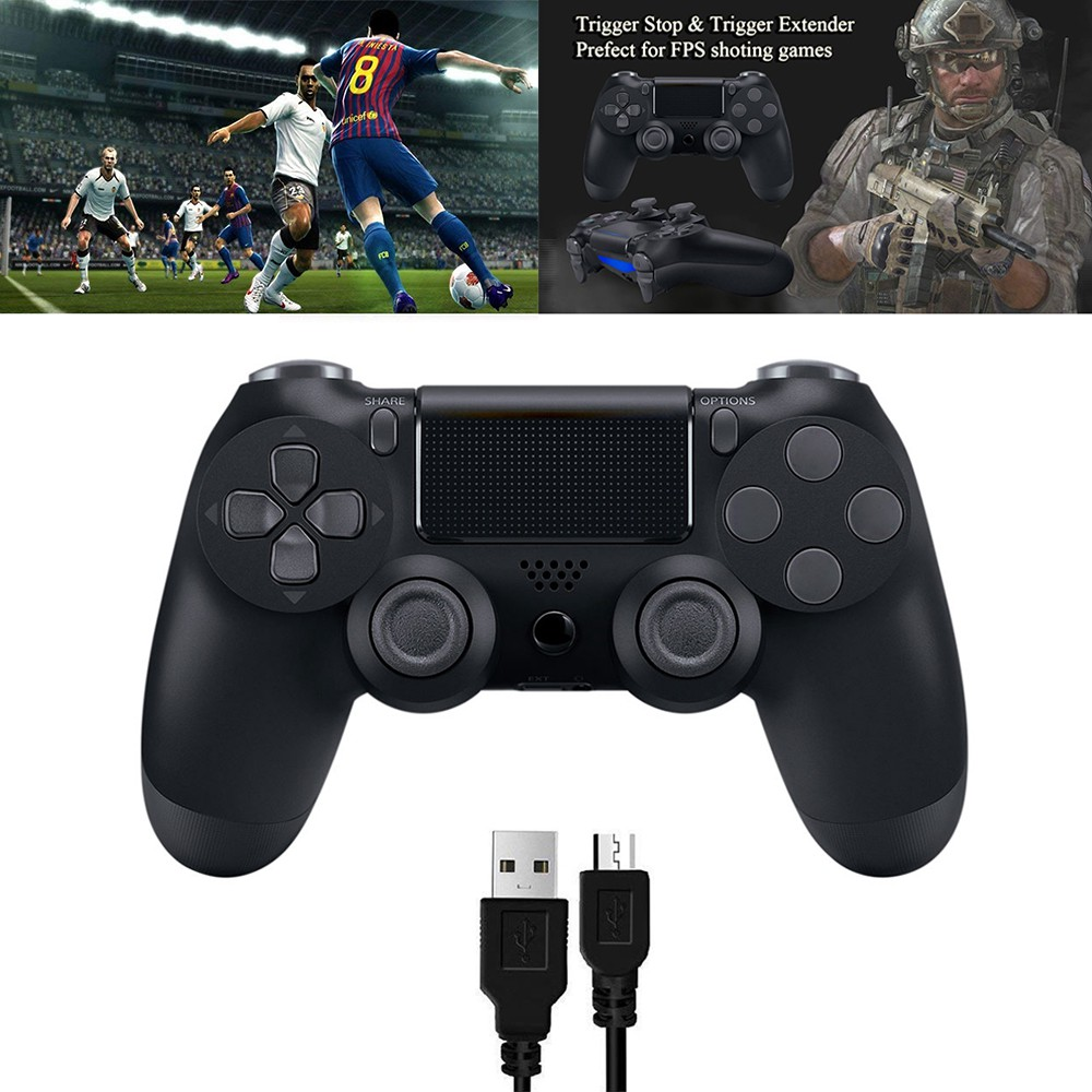 PS4 Cable Game Controller Gamepad ...