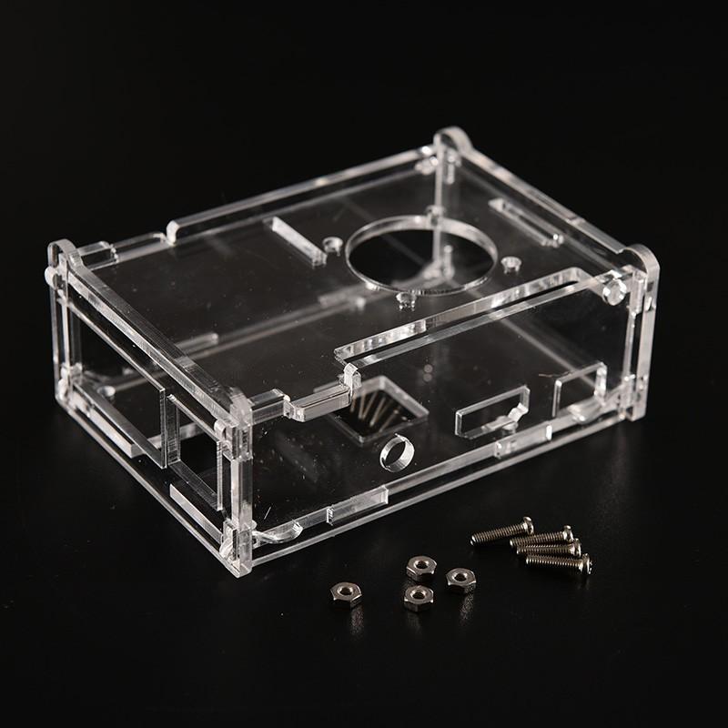 Transparent Clear  Pi Raspberry Acrylic Case Shell Enclosure Computer Box Kits