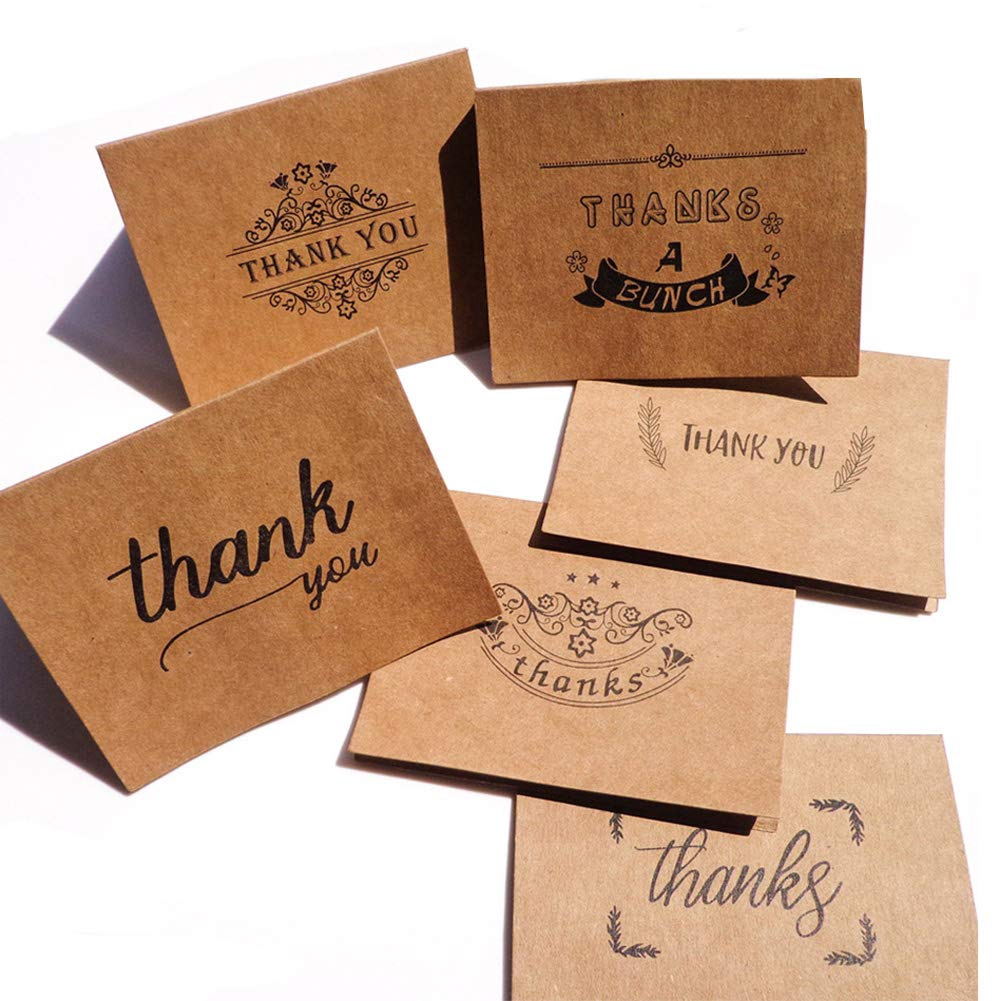 Thank You Notes Cards With Envelope