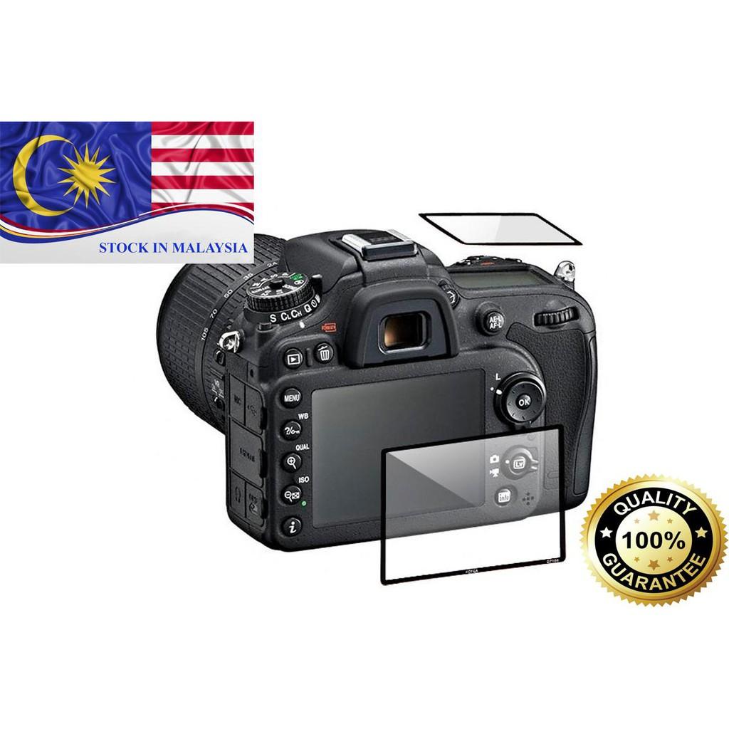 Fotga 0.5mm Premium LCD Screen Panel Protector Glass For Nikon D7100 (Ready Stock In Malaysia)