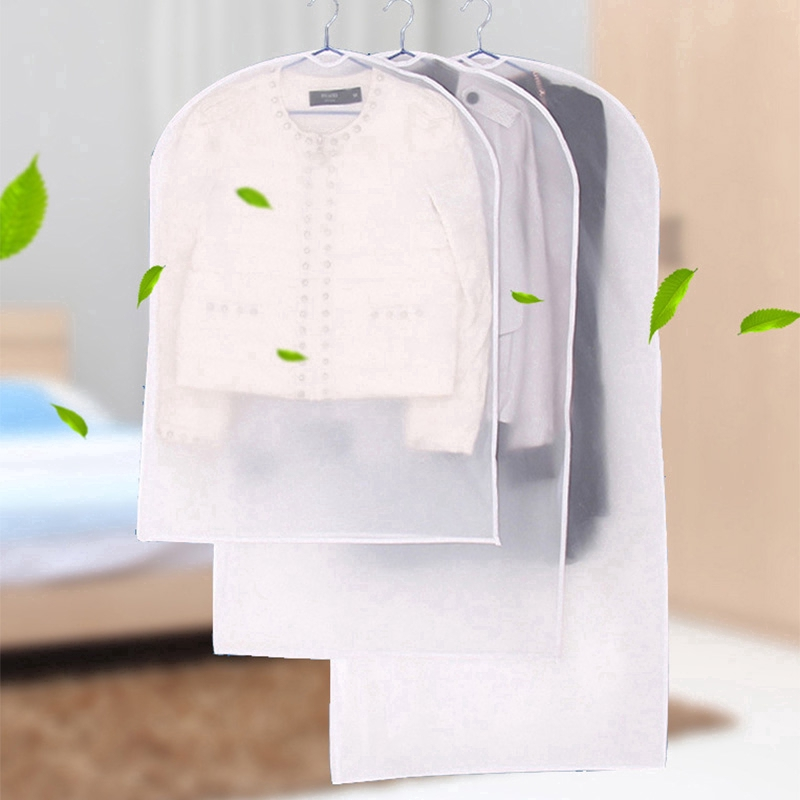 Clothes Dress Garment Dustproof Cover Bags Suit Coat Travel Storage Protector