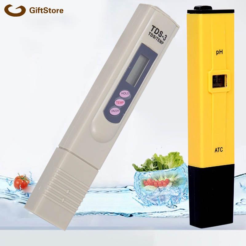 PH Meter TDS LCD Tester Pen Paper Aquarium Pool Hydroponik Water Monito AHS