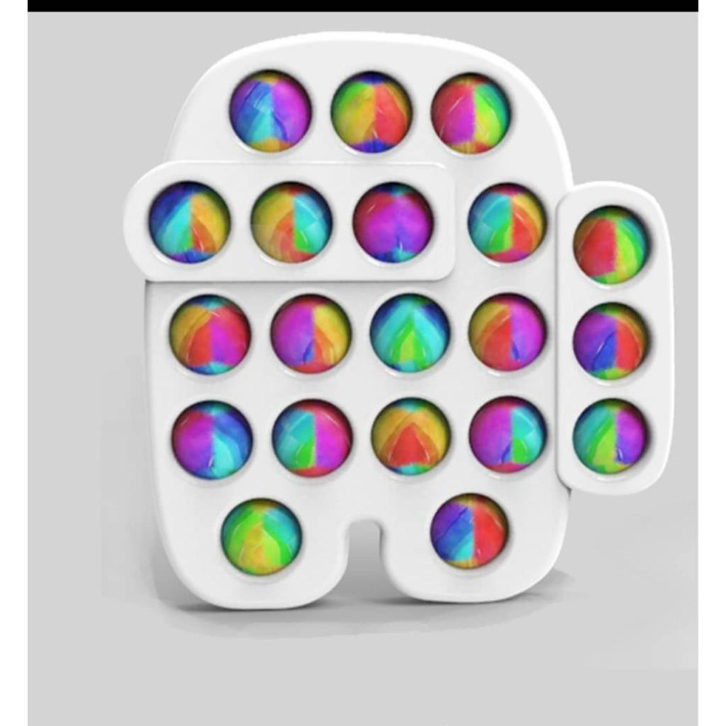 Amazon Yoda Rodent Pioneer Luminous Round Silicone Children's Math Desktop Educational Toys Decompression Multicolor 2