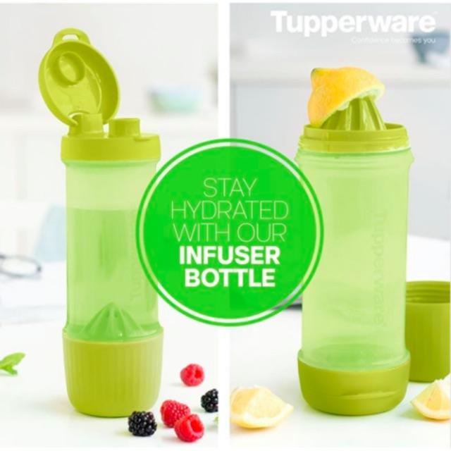 Tupperware Infuse2Go Infuser Bottle