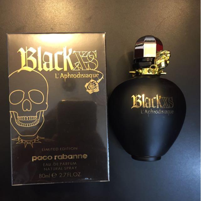 De Xs Paco Rabanne L'aphrodisiaque For Eau Parfum Black 80ml Women tsQdxBhrCo
