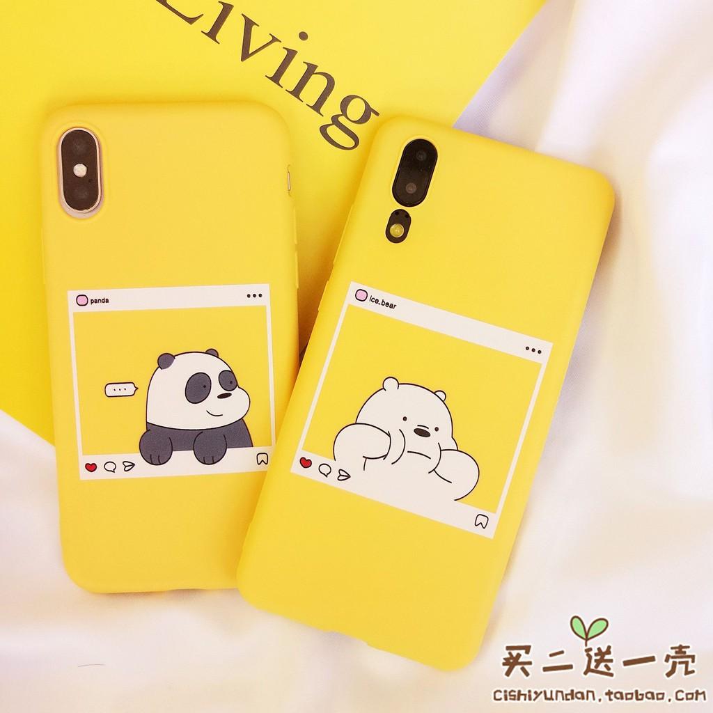 Panda dialog box Huawei p9/Glory 8/P20pro glory 10 personality silicone  mobile p