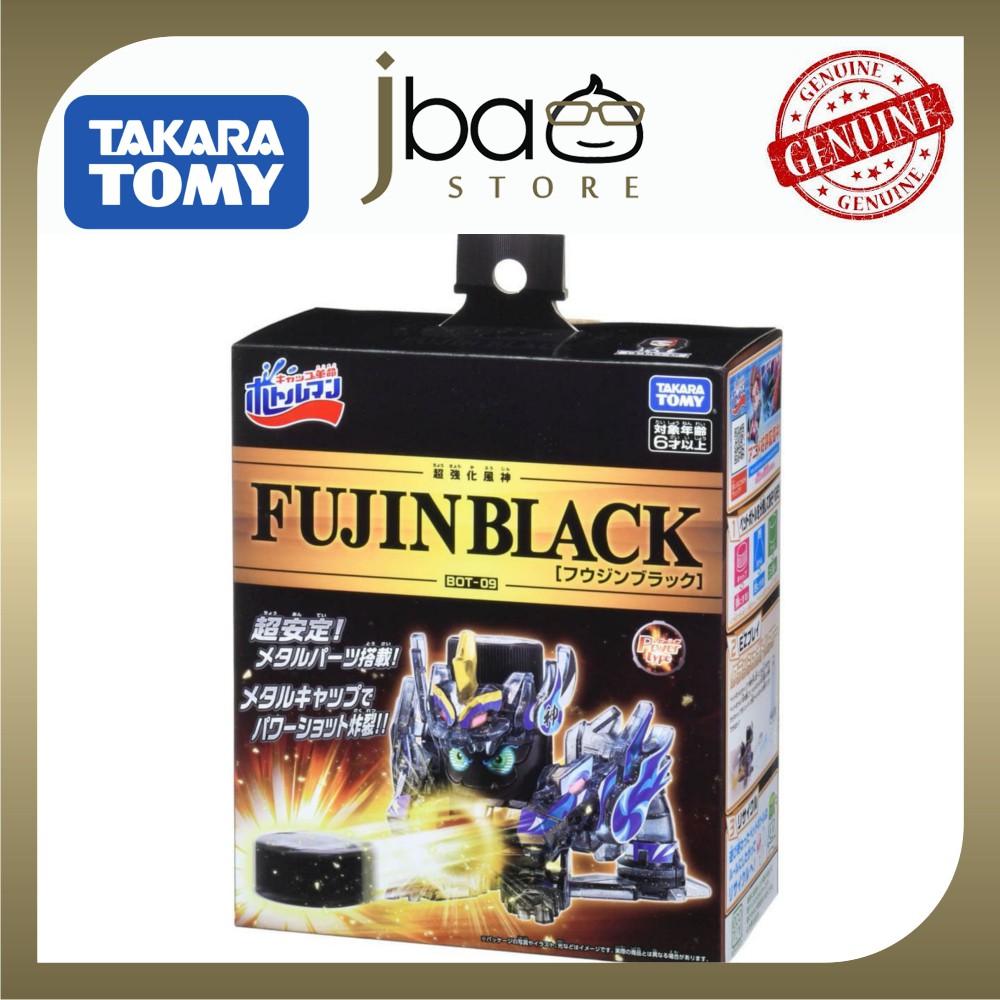 Takara Tomy BOT-09 Fujin Black Bottleman Bottle man