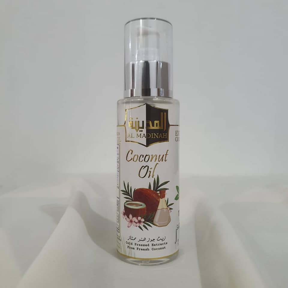 Al Madinah Coconut Oil 100% Original Ready Stock