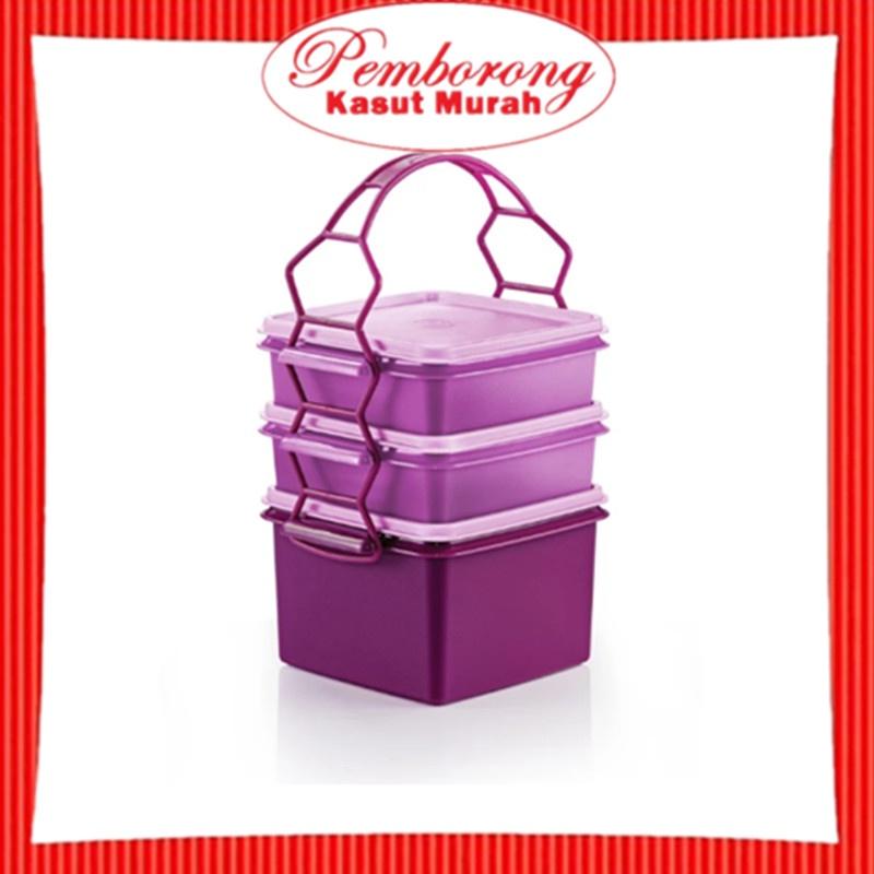🔥HOT ITEM🔥 Tupperware Triffin Delight Set / Purple Series
