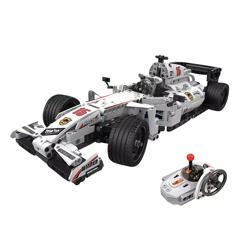 Moc F1 Racing Car Remote Control 2 4ghz Technic With Motor Box Building Blocks Brick Children Toys Gifts Compatible Lego Shopee Malaysia
