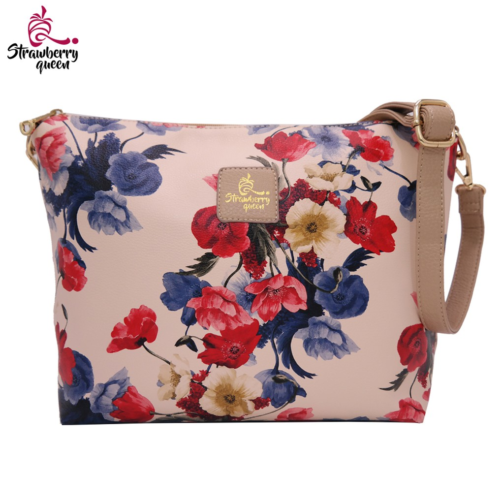 1b12755a22af Strawberry Queen - Flamingo Sling Bag (Floral)