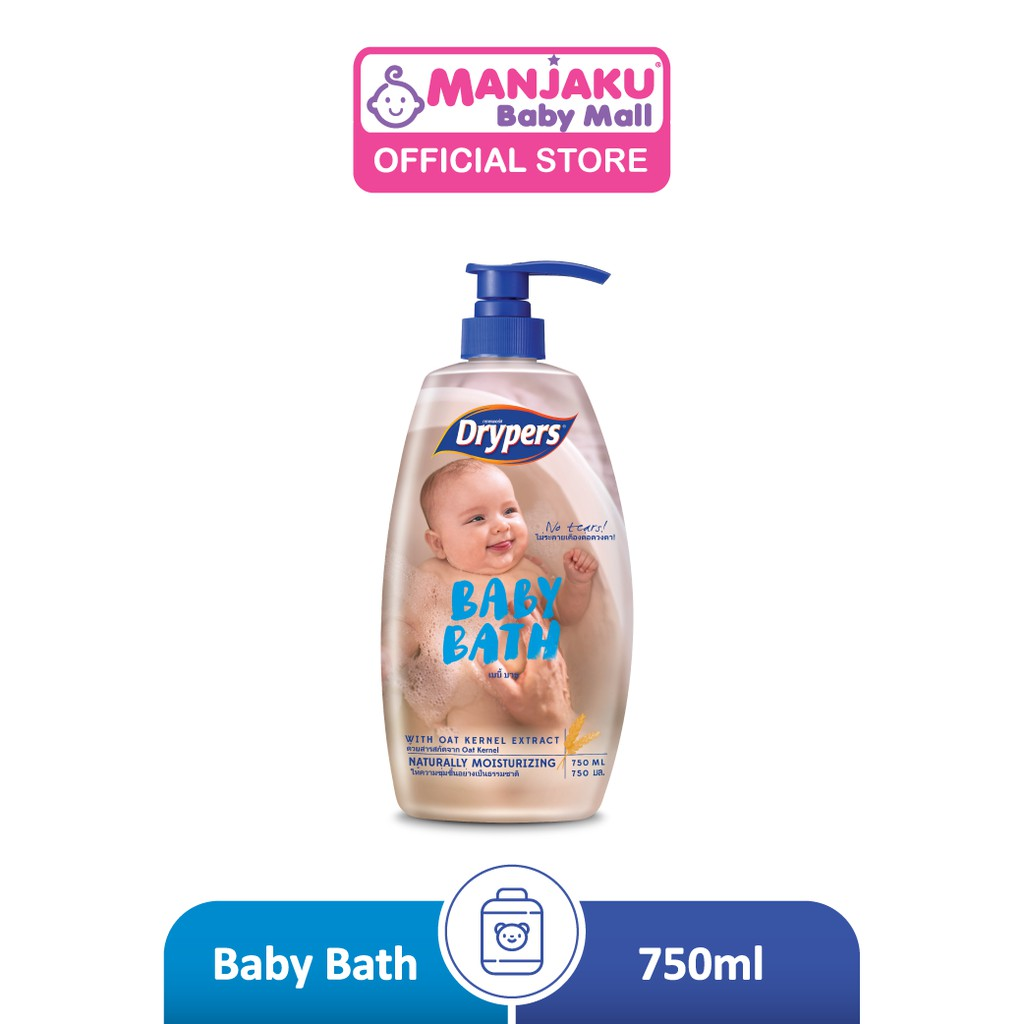 Drypers Baby Bath (750ml)
