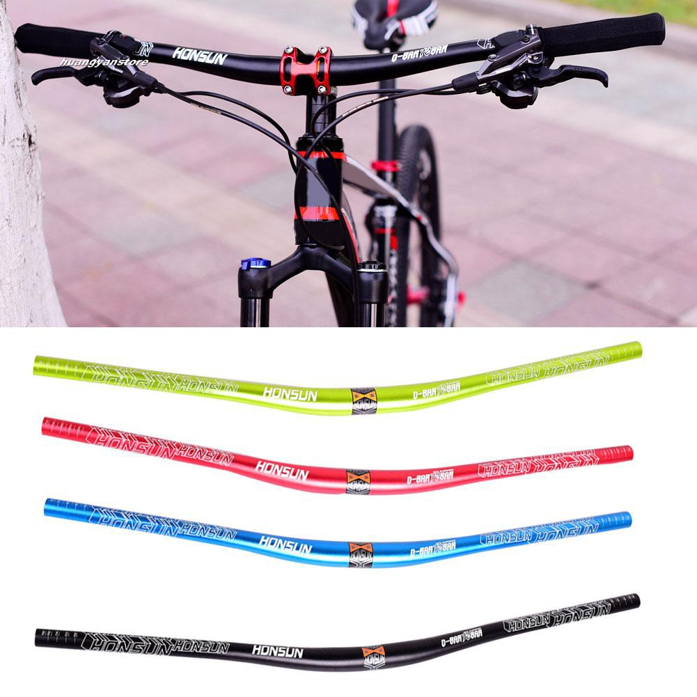 Aluminium MTB Bike Handlebar Mountain Bike Bicycle Riser bar 31.8*720mm Durable