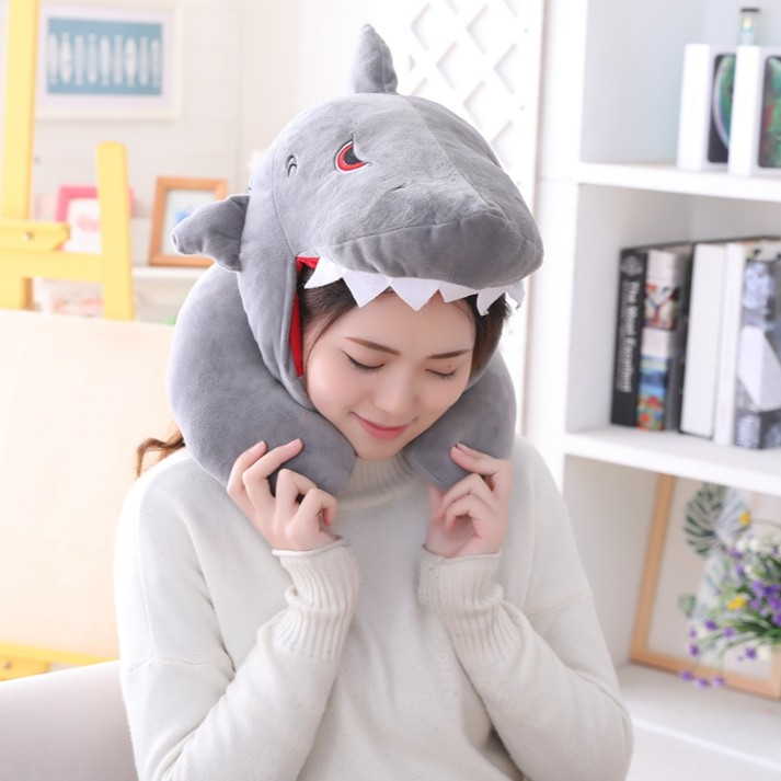Funny Plush Shark Hat Cap Party Gift Christmas Novelty Party Dress up Cosplay